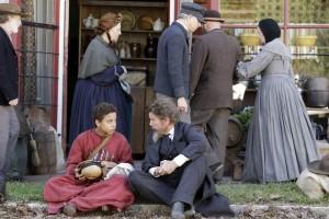 (L-R): Joshua Caleb Johnson as Onion and Ethan Hawke as John Brown