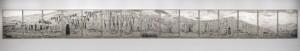 Pascal Convert Panoramique de la Falaise de Bamiyan, Afghanistan, 2016 / 2020 FNAC 2020-0592 (1 à 15) Centre national des arts plastiques © Adagp, Paris / Cnap / crédit photo :  Courtesy Galerie Eric Dupont
