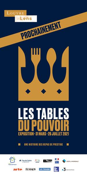 Louvre Lens - Tables du pouvoir