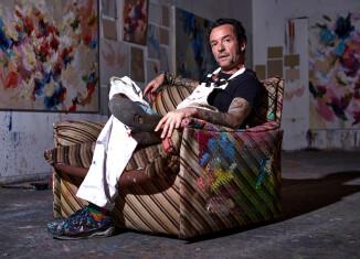 Arne Quinze atelier by Dave Bruel