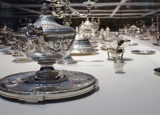Vue d'exposition, Service du Roi d'Angleterre George III © Julien Damien