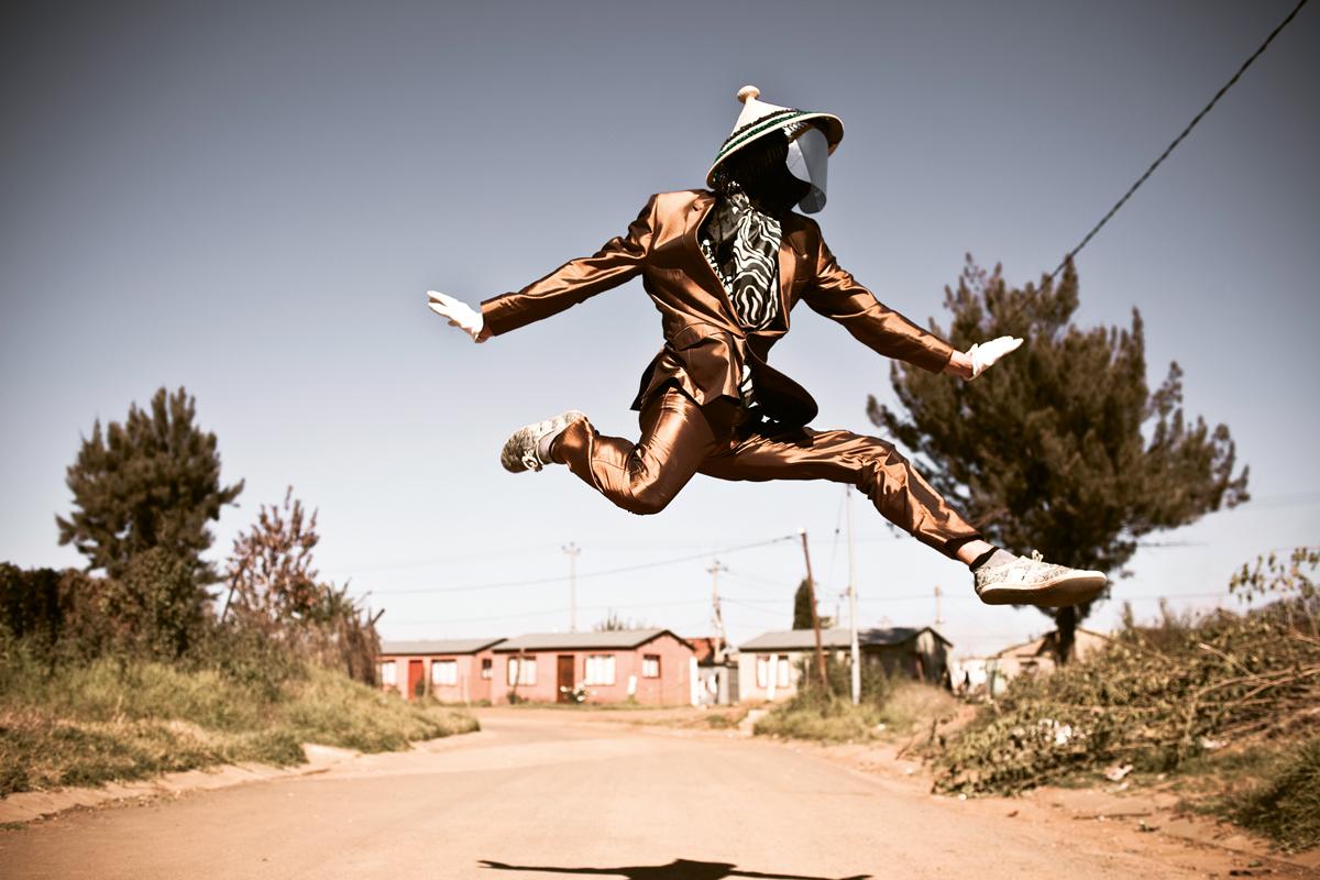 DJ Invizable, Orange Farm Township, Johannesburg, 2015 © Chris Saunders