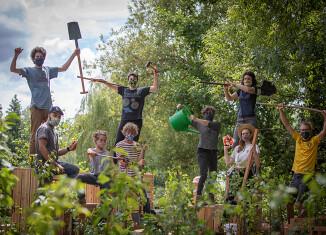 Collectif POP UP, 2020, Festival international de jardins |Hortillonnages Amiens © Yann Monel