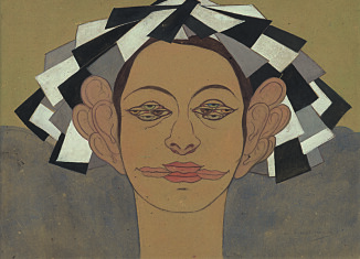 Marguerite Burnat-Provins (1872-1952) L'Opinion, Ma Ville, 1929 Collection privée, Lausanne (Suisse) © Infolio éditions