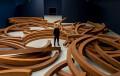 L'Hypothese de l'entropie, 2020, acier corten, dimensions variables © Jérôme Cavaliere © Bernar Venet Studio
